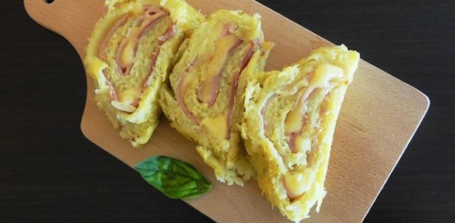 Roulé de Pommes de Terre Fromage à Raclette