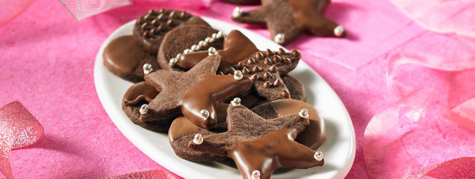 Photo Recette Sablés Glacés au Chocolat