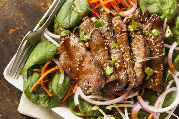 Salade à L'italienne avec Bavette de Bœuf