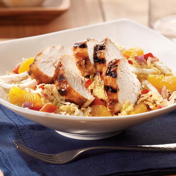 Salade Asiatique au Poulet et à la Sauce Hoisin