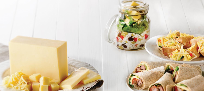 Photo Recette Salade au Monterey Jack en pot Mason