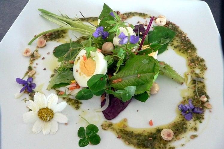 Photo Recette Salade aux Fleurs de Printemps