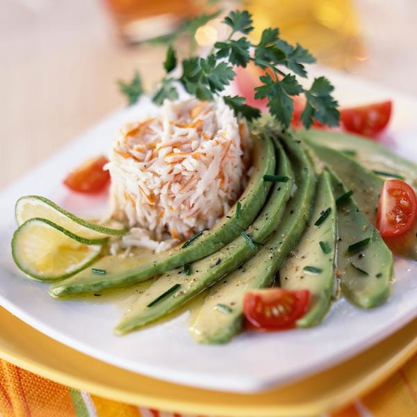 Salade Avocat et Surimi
