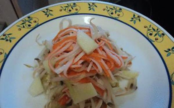 Salade Chinois au Surimi