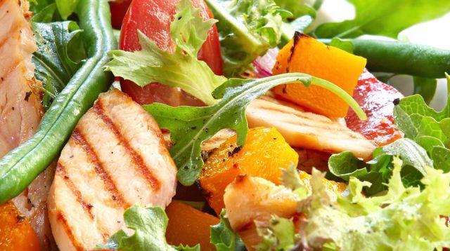 Photo Recette Salade Colorée de Poulet
