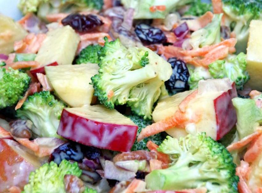 Photo Recette Salade Crémeuse de Pommes et Brocoli