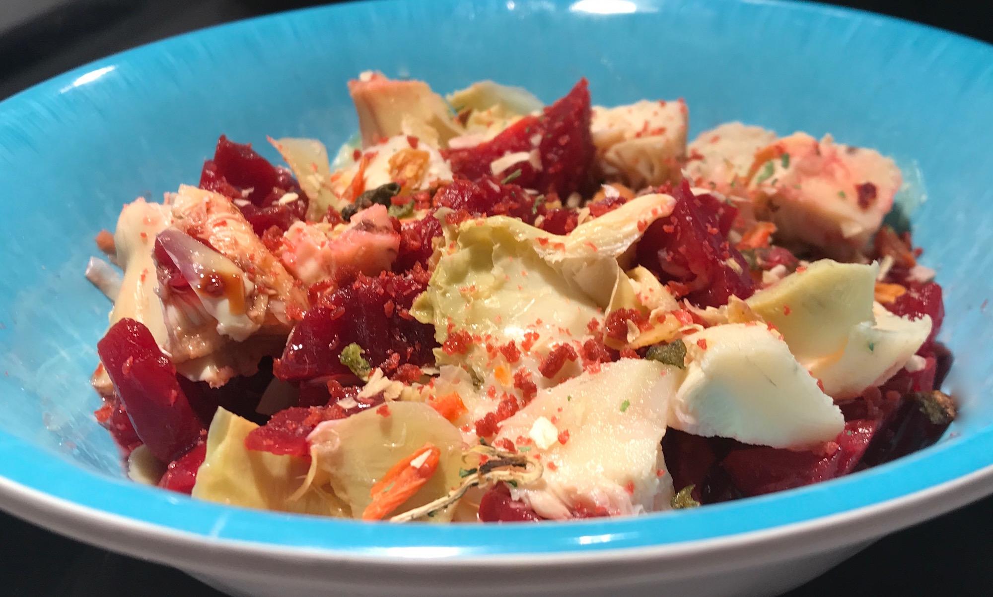Photo Recette Salade D'artichaut et de Betteraves