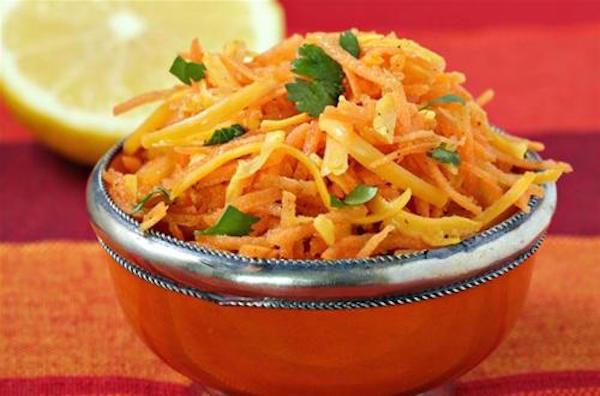Salade de Carottes à la Mimolette