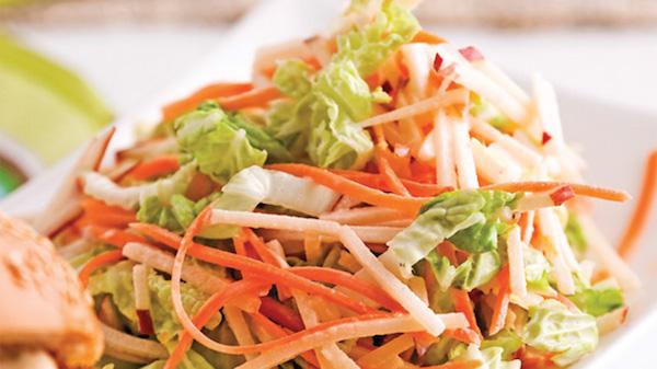 Salade de Chou et Daïkon à la Japonaise