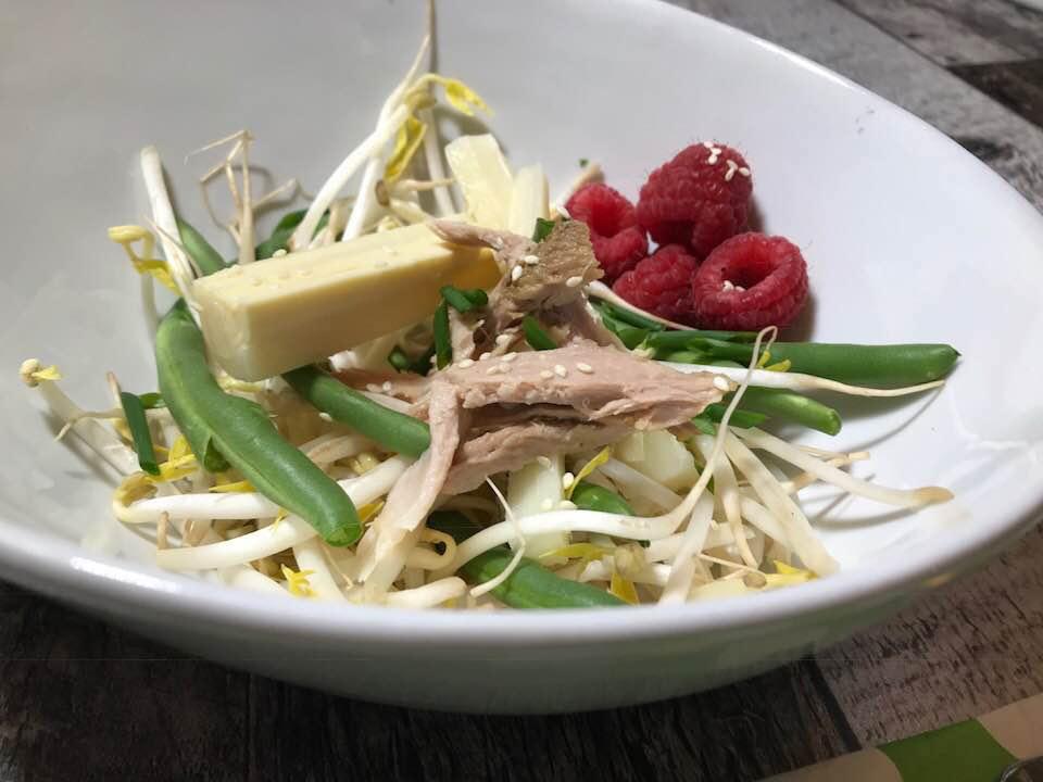 Salade de Fèves Germées Santé