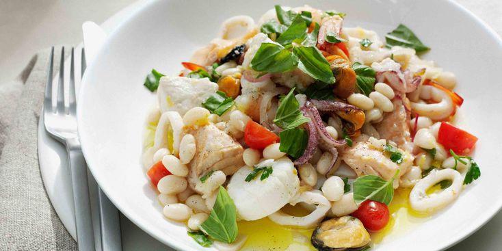 Salade de Fruits de Mer Tièdes à *L'amalfitaine