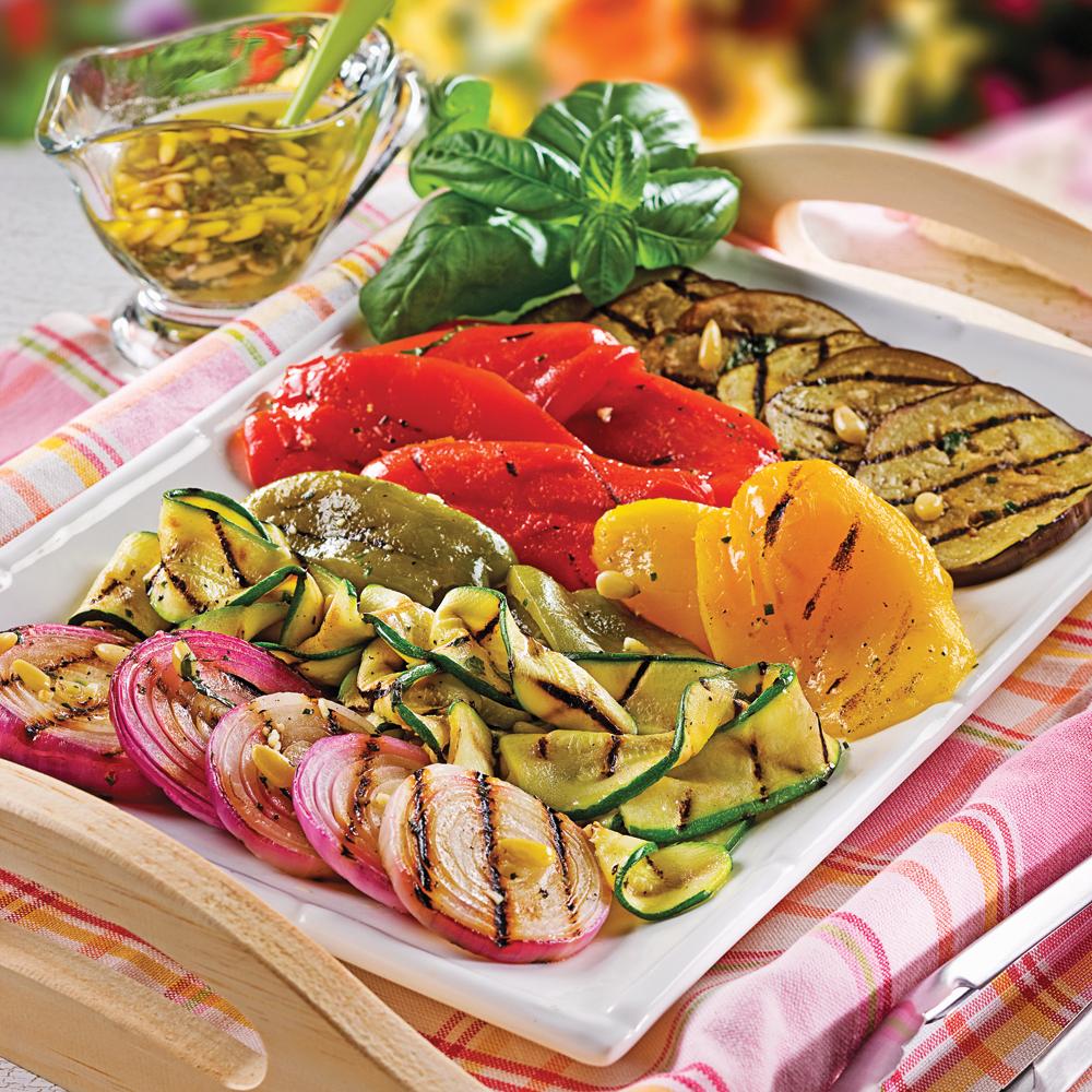 Photo Recette Salade de Légumes Grillés à L'italienne