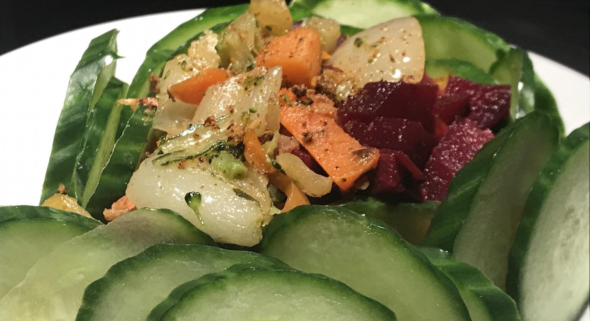 Photo Recette Salade de Légumes Rôtis
