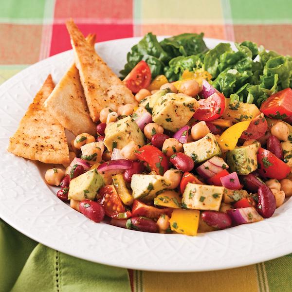 Photo Recette Salade de Légumineuses à la Mexicaine