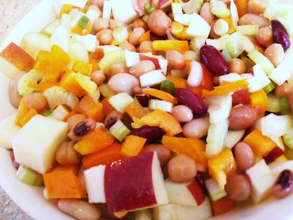 Salade de Légumineuses aux Pommes