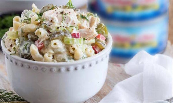 Photo Recette Salade de Macaroni à un P'tit quelque Chose de Spécial
