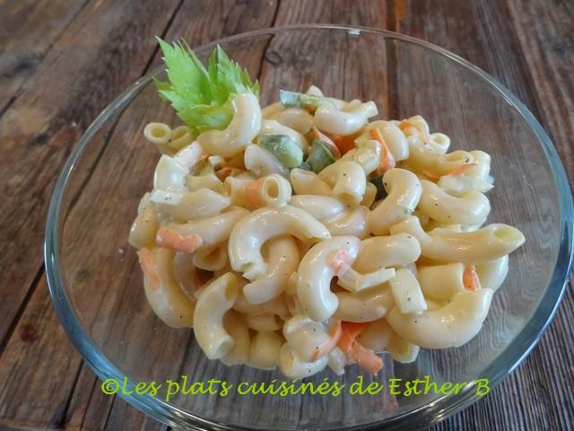 Salade de Macaronis Sucrée