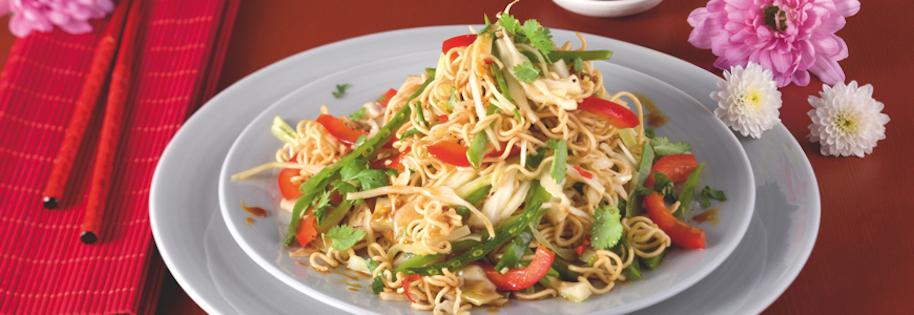 Salade de Nouilles Asiatiques