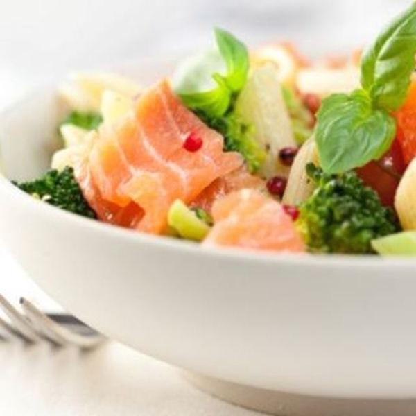 Photo Recette Salade de Pâtes à L'avocat et au Saumon Fumé