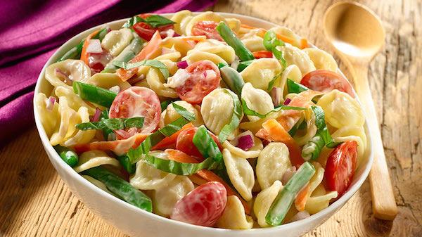 Photo Recette Salade de Pâtes Balsamique Crémeuse