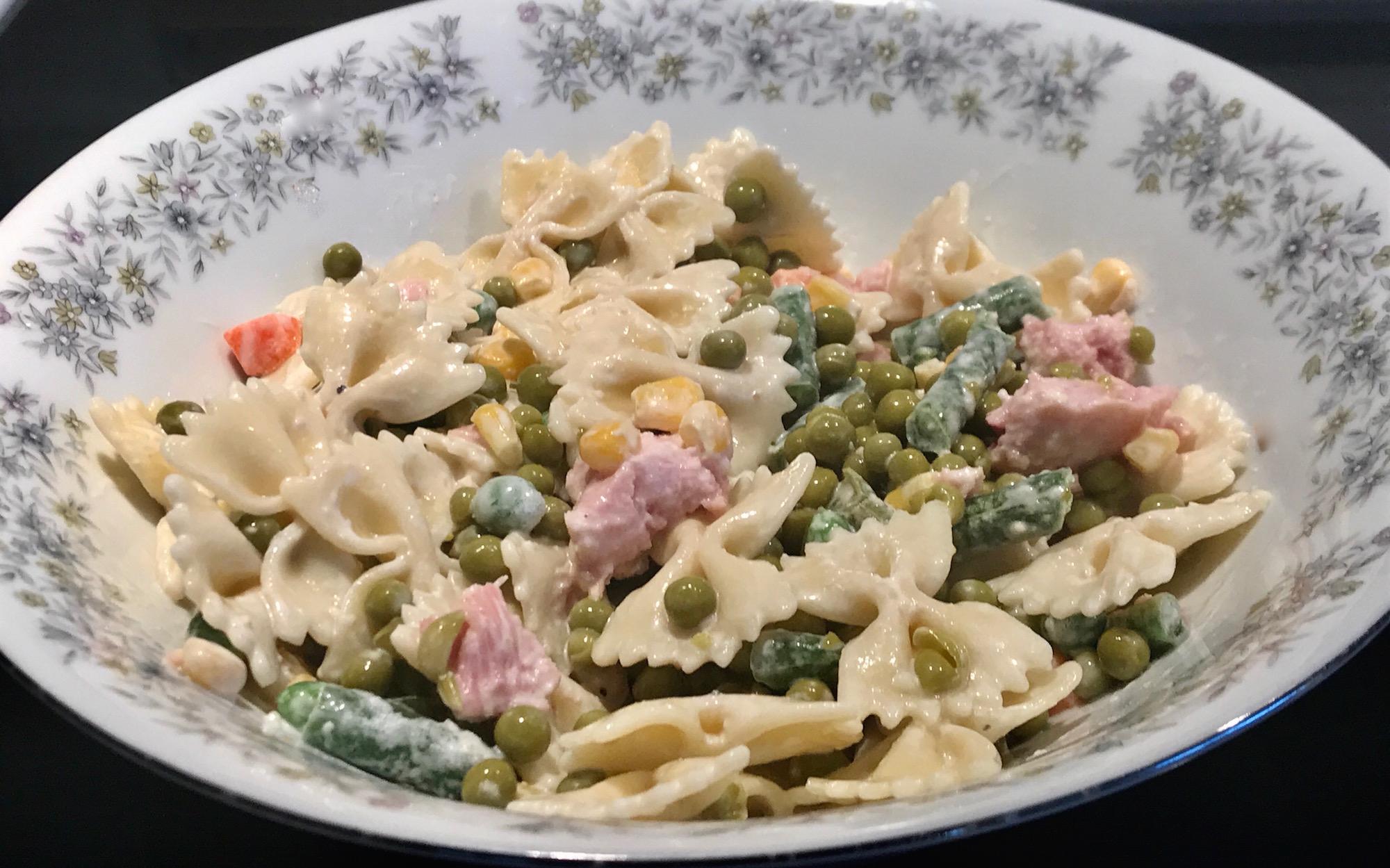 Photo Recette Salade de Pâtes, Légumes et Jambon