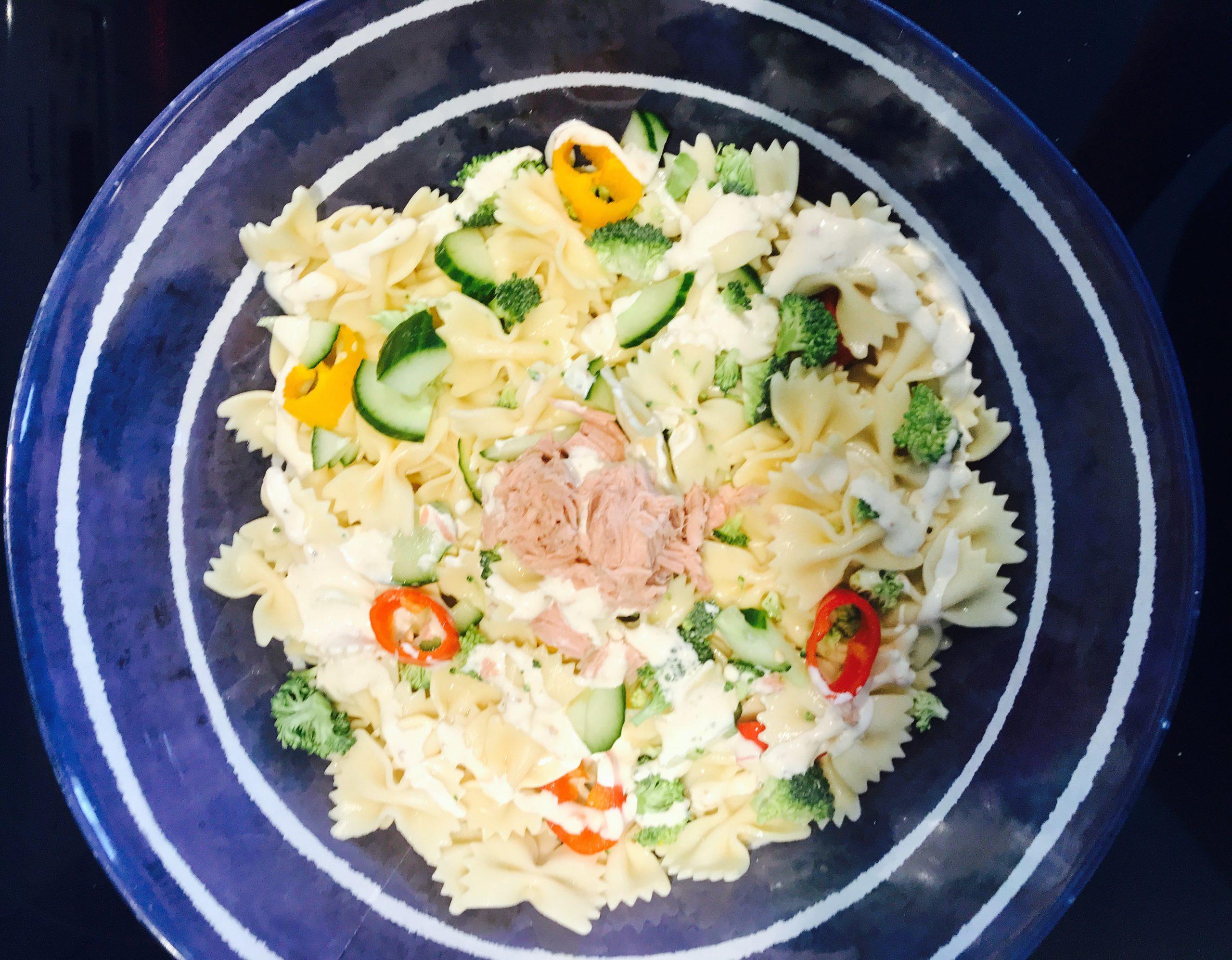 Salade de Pâtes Légumes et Thon