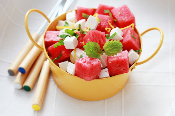Salade de Pastèque à la Feta