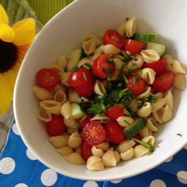 Photo Recette Salade de Pâte et Tomates-Cerises
