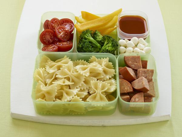 Salade de Pâtes Déconstruite