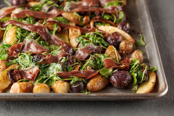 Salade de Pommes de Terre à L'huile de Truffe