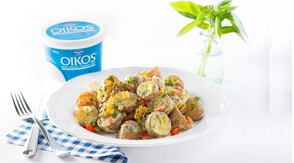 Photo Recette Salade de Pommes de Terre au Maïs et à L'edamame