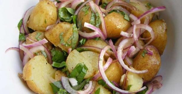 Salade de Pommes de Terre Citron Basilic