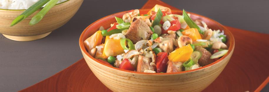 Salade de Poulet Asiatique
