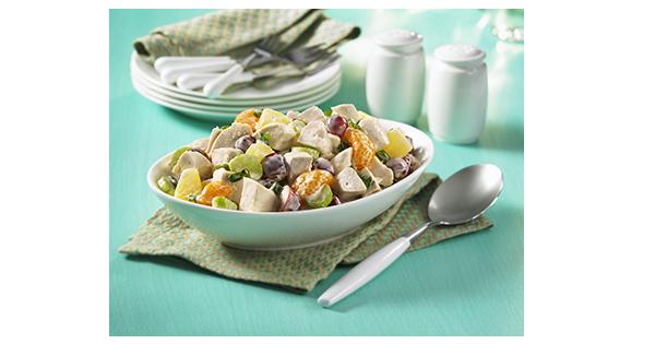 Salade de Poulet aux Fruits