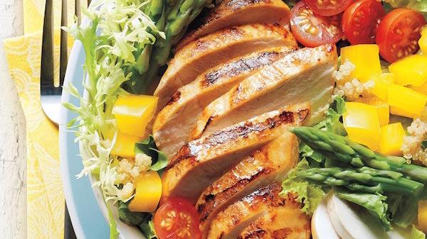 Photo Recette Salade de Poulet Grillé au Vinaigre Balsamique