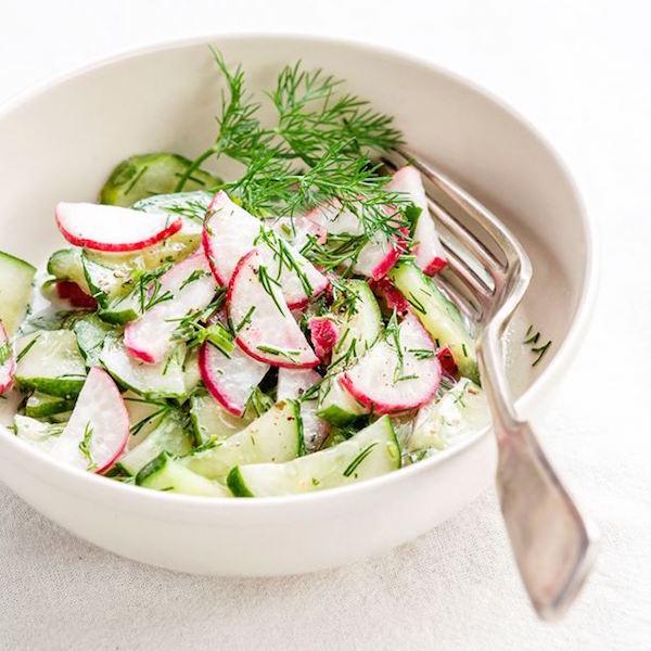 Photo Recette Salade de Radis et de Concombre