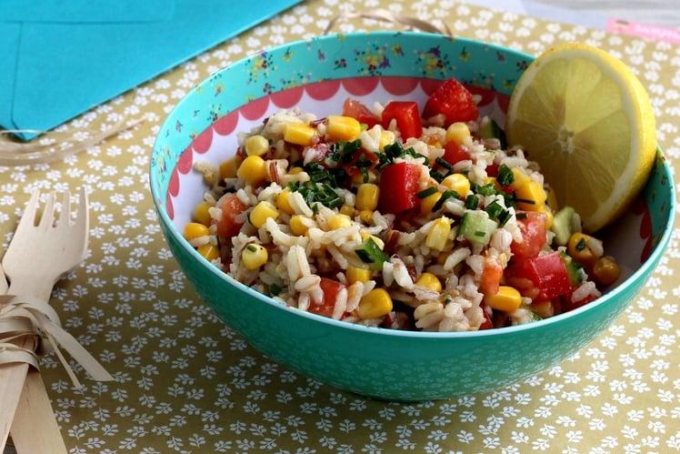Salade de Riz Céréales Anciennes et Maïs