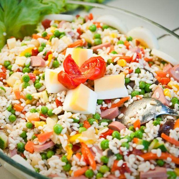Photo Recette Salade de Riz Complète