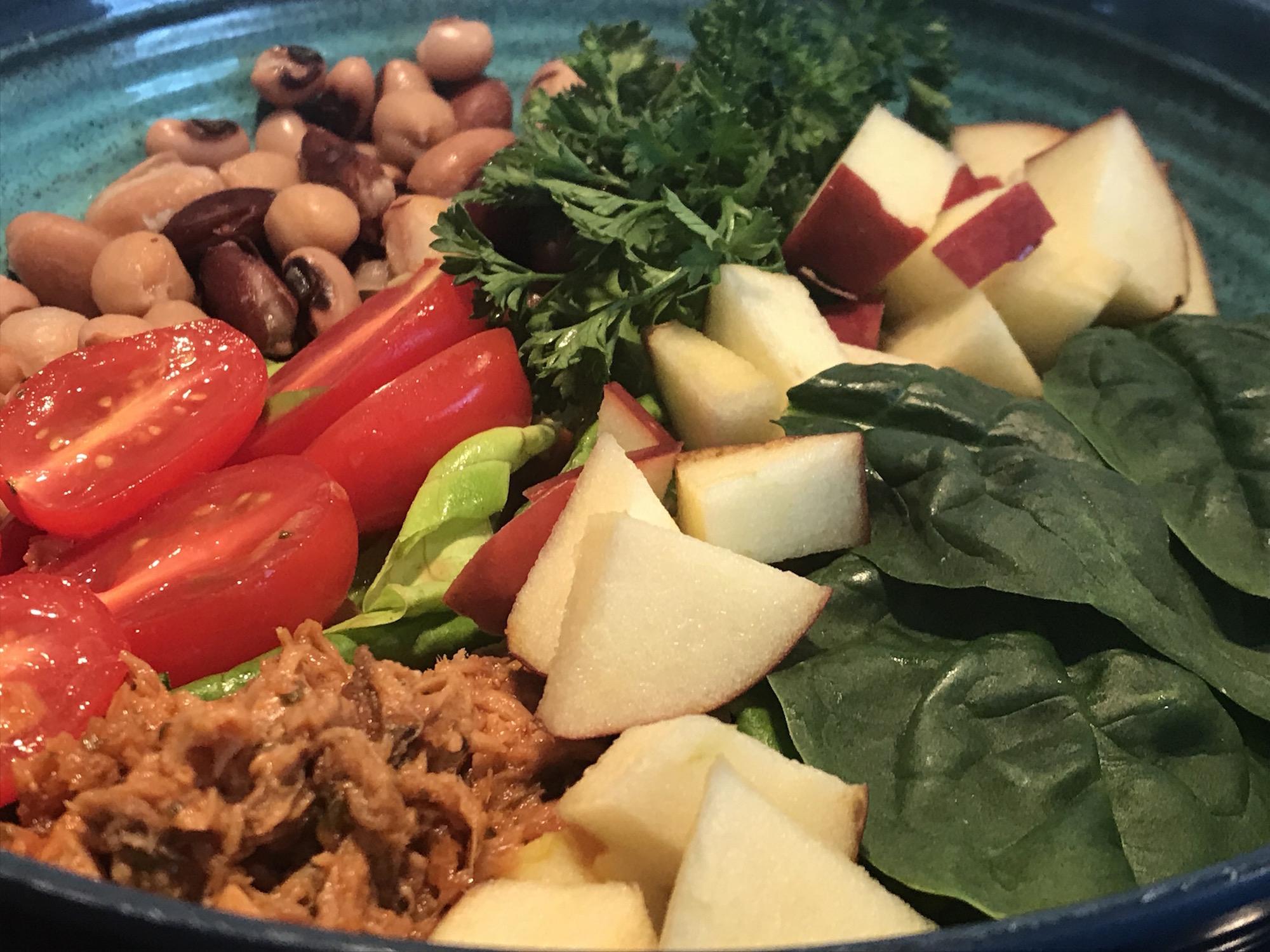 Salade de Thon et Légumineuses