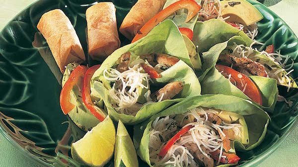 Salade de Vermicelles et de Porc