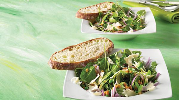 Photo Recette Salade D'épinard et de Lentilles