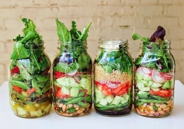Photo Recette Salade en Pot