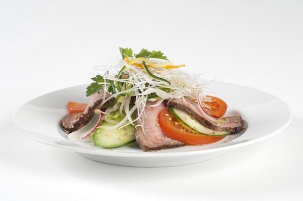 Salade Exotique au Boeuf et Vermicelles de Riz