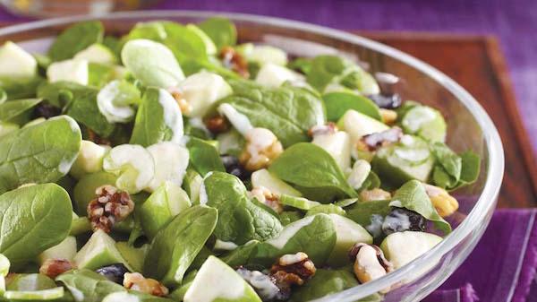 Salade Fraîche aux Pommes
