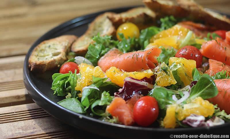 Photo Recette Salade Fraîcheur au Saumon et Agrumes