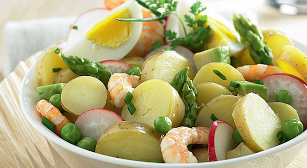 Salade Fraîcheur de Rattes du Touquet