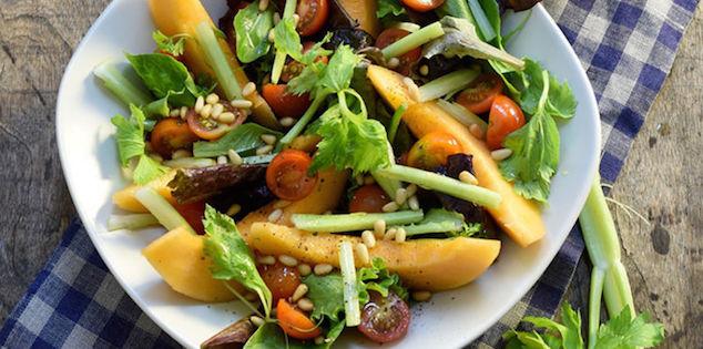 Salade Fraîcheur Tomates Melon Céleri