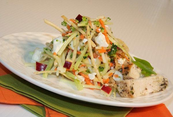 Salade Fraîcheur aux Crevettes et sa Vinaigrette Sucrée