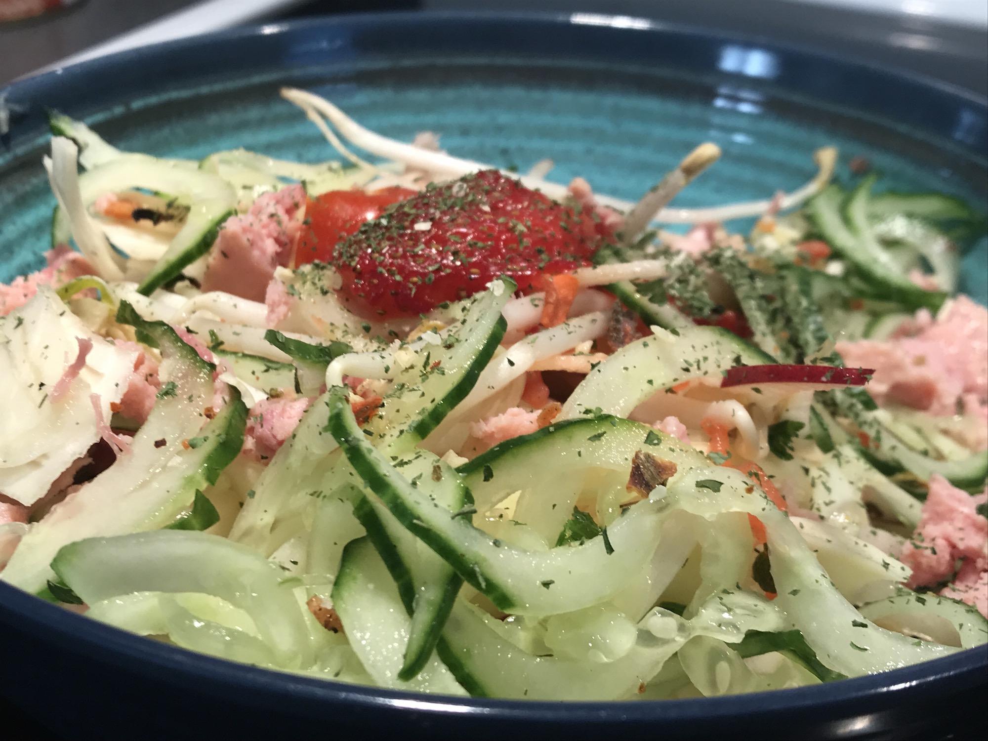 Photo Recette Salade Fraicheur d'été Rafraîchissante