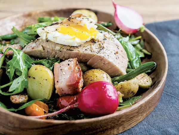 Salade Niçoise de Luxe